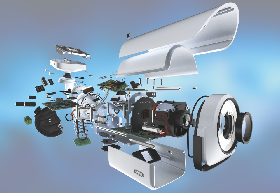 Autobeklebung IP-Kamera