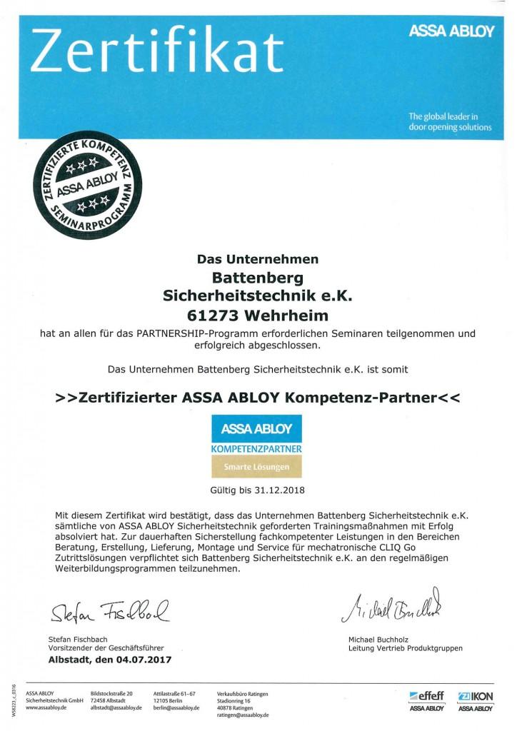 assa-abloy-zertifikat-battenberg-sicherheitstechnik-1