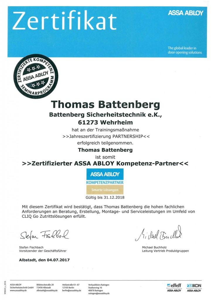 assa-abloy-zertifikat-thomas-battenberg